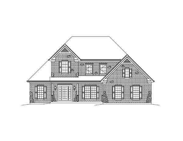 Country, Craftsman, Traditional House Plan 95898 with 3 Beds, 3 Baths, 2 Car Garage Picture 3