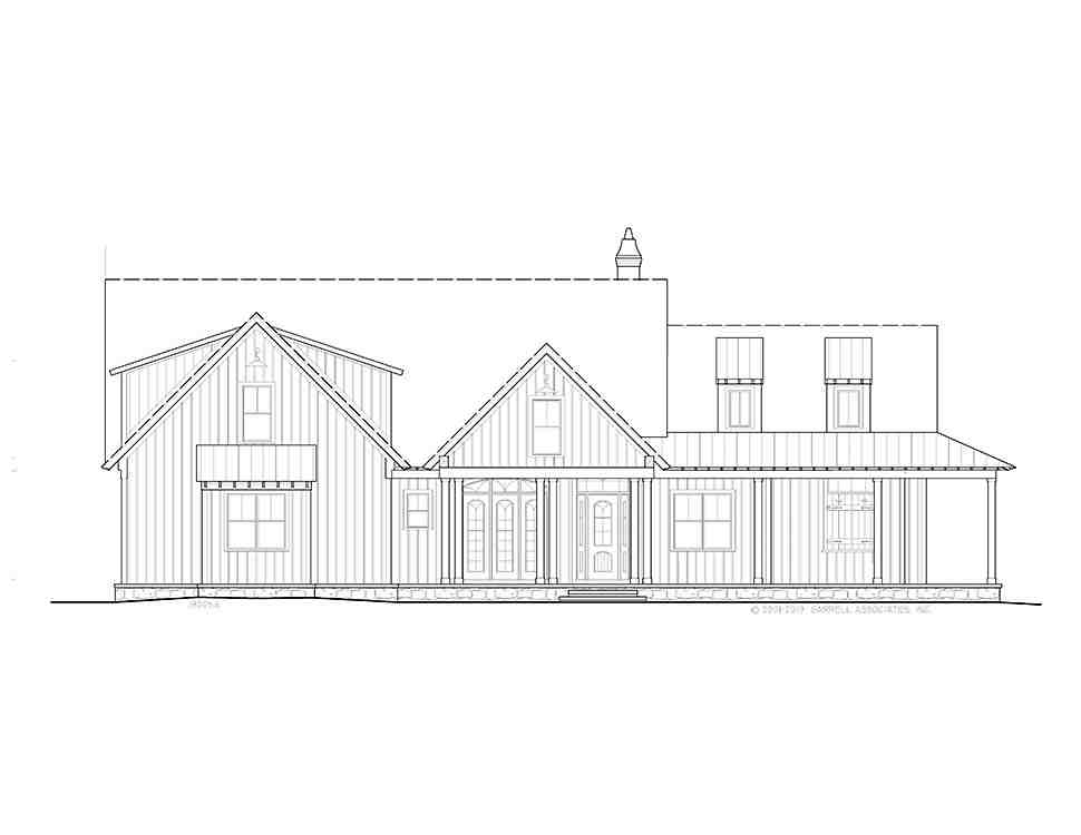 Farmhouse, Ranch House Plan 97638 with 3 Beds, 4 Baths, 2 Car Garage Picture 1