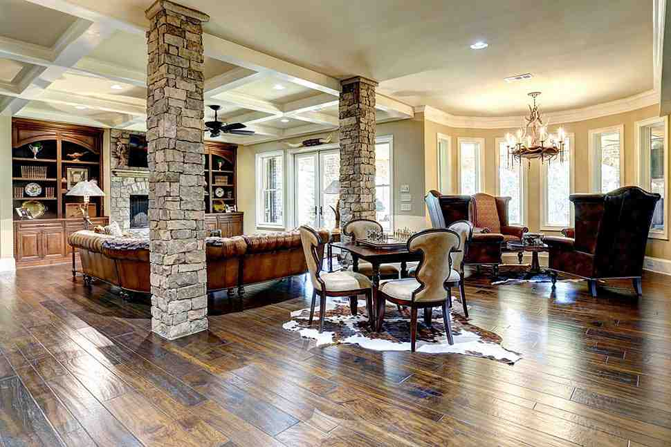 Craftsman, Ranch, Tuscan House Plan 97680 with 3 Beds, 4 Baths, 3 Car Garage Picture 27