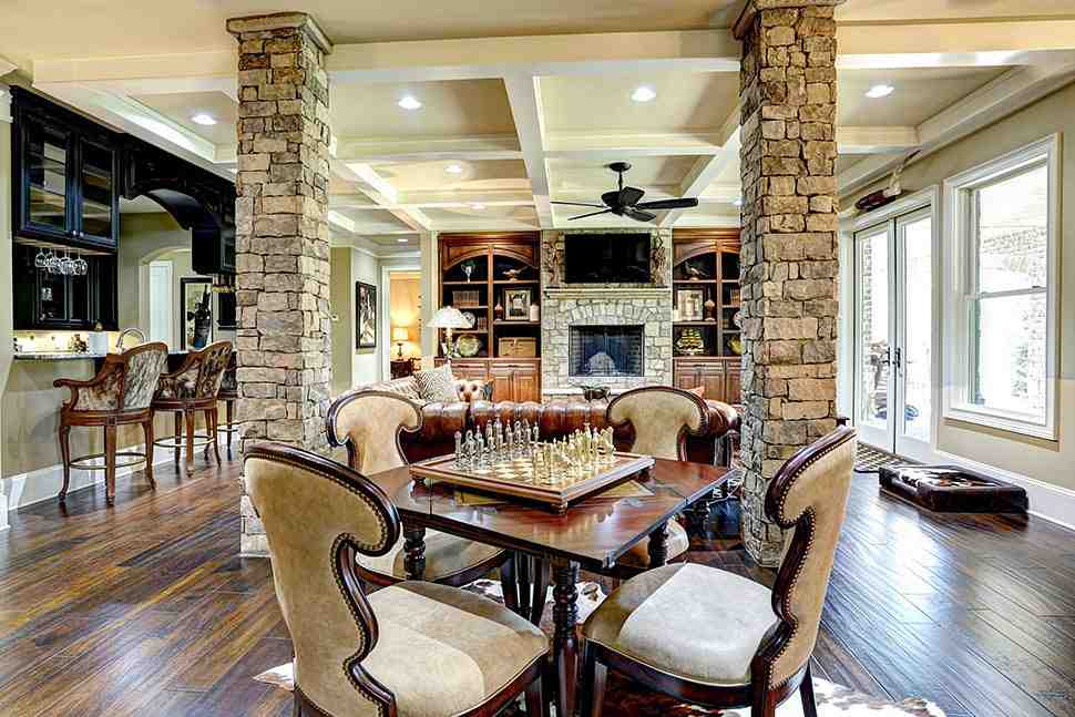 Craftsman, Ranch, Tuscan House Plan 97680 with 3 Beds, 4 Baths, 3 Car Garage Picture 28