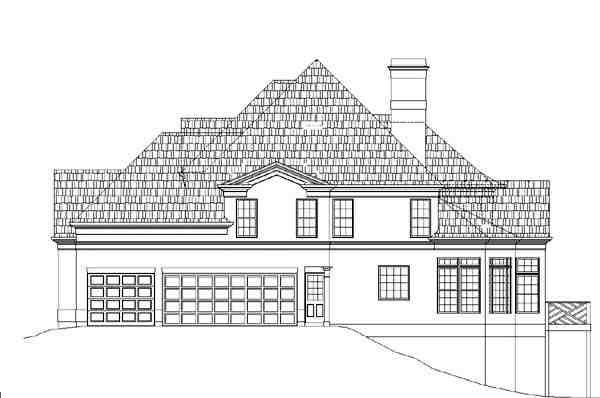 European, Greek Revival, Victorian House Plan 98226 with 4 Beds, 4 Baths, 3 Car Garage Picture 4