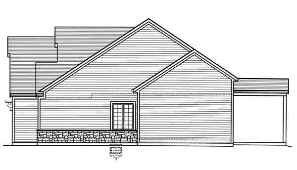 Country, Craftsman, Traditional House Plan 98677 with 3 Beds, 3 Baths, 2 Car Garage Picture 2