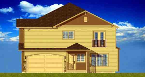 Multi-Family Plan 99973 with 12 Beds, 12 Baths, 8 Car Garage Picture 2