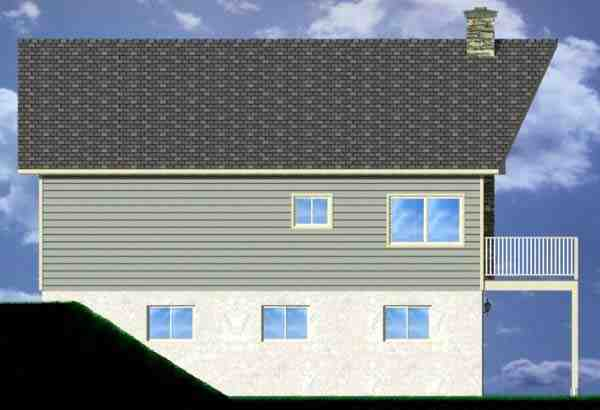 A-Frame House Plan 99975 with 3 Beds, 2 Baths, 1 Car Garage Picture 1