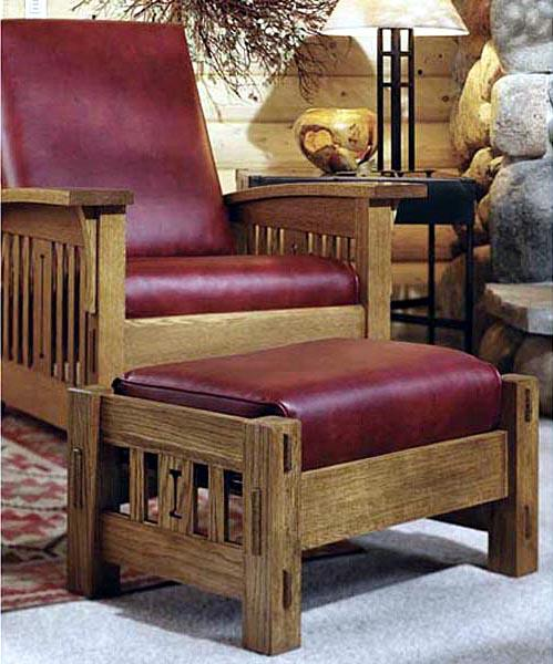 Arts and Crafts Morris Chair Woodworking Plan