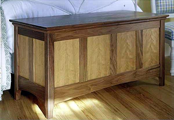 Heirloom Hope Chest Woodworking Plan