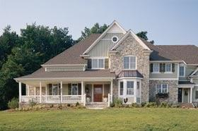 Bungalow, Country, Farmhouse House Plan 32327 with 5 Beds, 5 Baths, 3 Car Garage Elevation