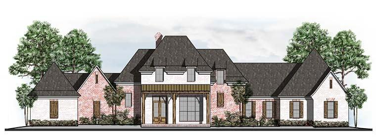 Country, European, French Country, Southern House Plan 41560 with 5 Beds, 5 Baths, 3 Car Garage Elevation