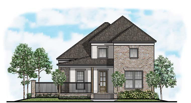 Country, Farmhouse House Plan 41659 with 3 Beds, 4 Baths, 2 Car Garage Elevation
