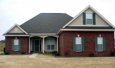 Traditional House Plan 71453 with 3 Beds, 3 Baths, 2 Car Garage Elevation