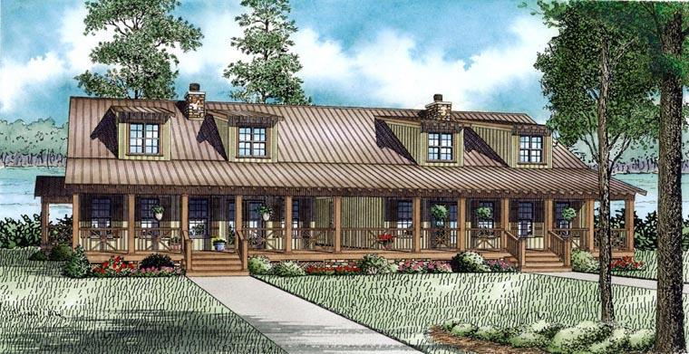 Multi-Family Plan 82306 with 6 Beds, 4 Baths Elevation