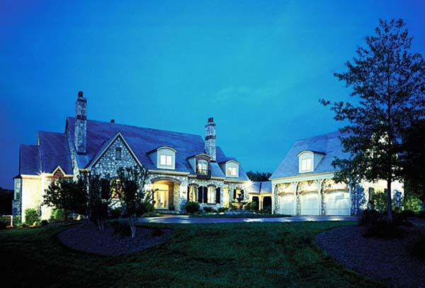 Country, European House Plan 85627 with 5 Beds, 5 Baths, 3 Car Garage Elevation
