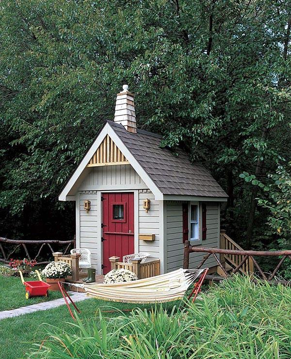 One-Room School Playhouse - Project Plan 503537