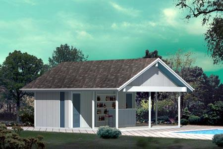 Large Poolside Structure - Project Plan 85954