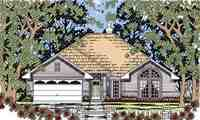 Plan Number 79260 - 1507 Square Feet