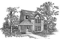 Plan Number 94018 - 1464 Square Feet