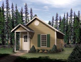 Plan Number 49132 - 448 Square Feet