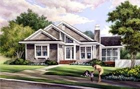 Plan Number 57070 - 1504 Square Feet