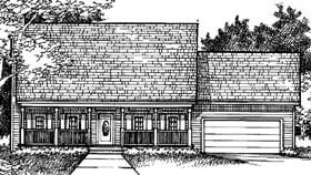 Plan Number 57335 - 1645 Square Feet