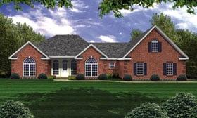 Plan Number 59074 - 2251 Square Feet