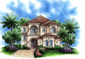 Plan Number 60795 - 3577 Square Feet