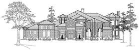 Plan Number 61891 - 7546 Square Feet