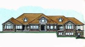 Plan Number 70522 - 7091 Square Feet