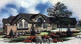 Plan Number 70524 - 3954 Square Feet