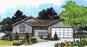 Plan Number 70526 - 1148 Square Feet