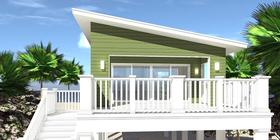 Plan Number 70851 - 361 Square Feet