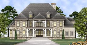 Plan Number 72137 - 4958 Square Feet