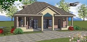 Plan Number 72380 - 704 Square Feet