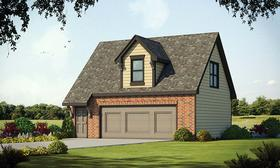 Plan Number 80425 - 348 Square Feet