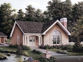 Plan Number 87392 - 1161 Square Feet