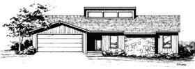 Plan Number 90403 - 1457 Square Feet