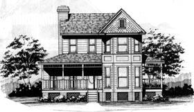 Plan Number 90406 - 1737 Square Feet