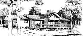 Plan Number 90414 - 1454 Square Feet