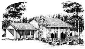 Plan Number 90418 - 1607 Square Feet