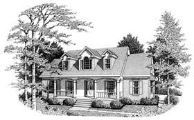 Plan Number 90486 - 1672 Square Feet