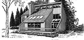 Plan Number 94013 - 1464 Square Feet