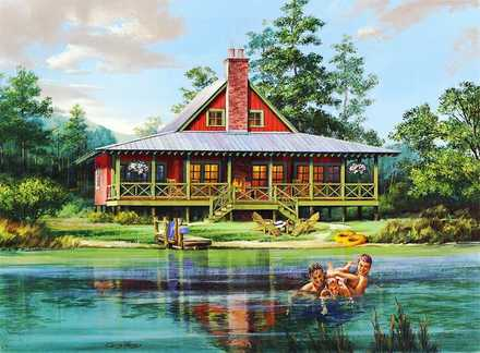 Cabin Home Plans