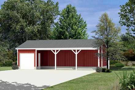 85936 - Pole Building - Equipment Shed