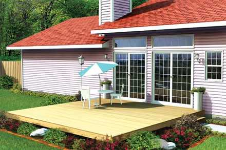 90001 - Easy Patio Deck