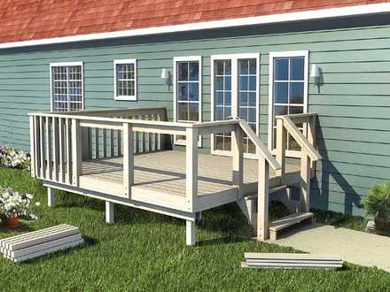 90050 - The How-to-Build Deck Plan